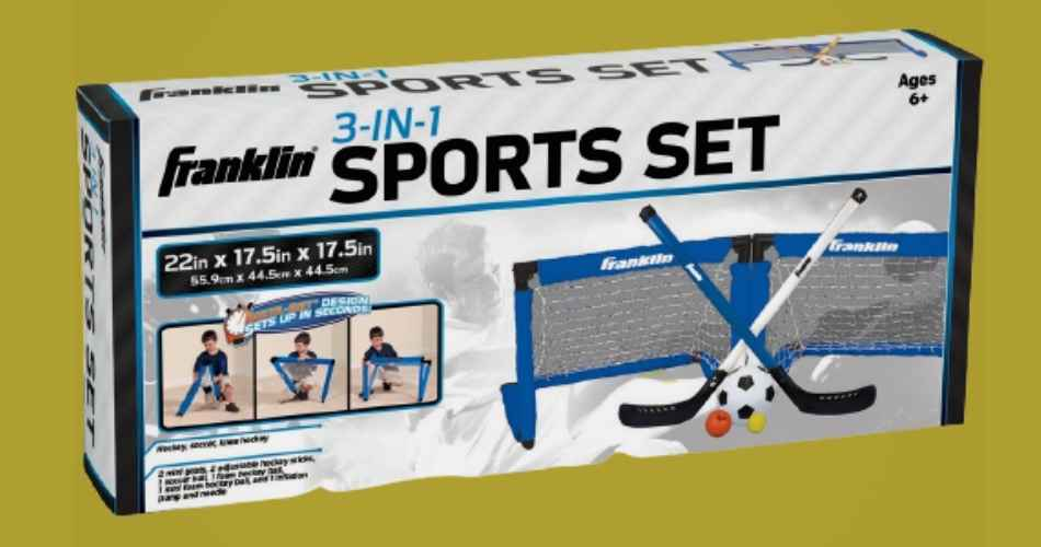 Franklin 3 in 1 Sports Set Review