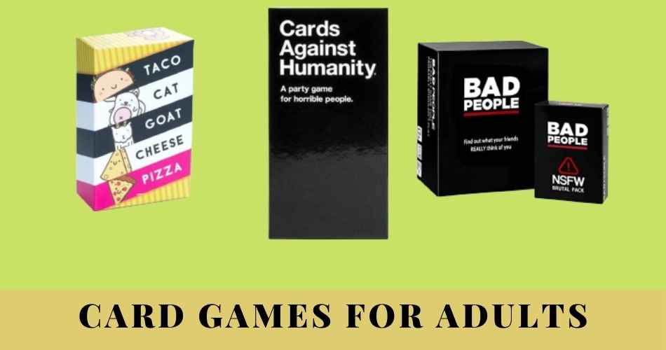 Best card games for adults reviews